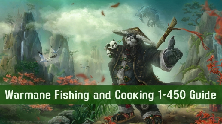 Warmane Fishing and Cooking 1-450 Guide – mmospaces
